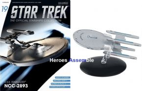 Star Trek Official Starships Collection #019 USS Stargazer Eaglemoss